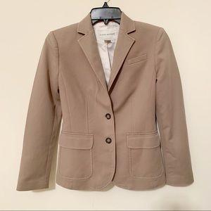 Banana Republic Cotton Blend Blazer/Jacket